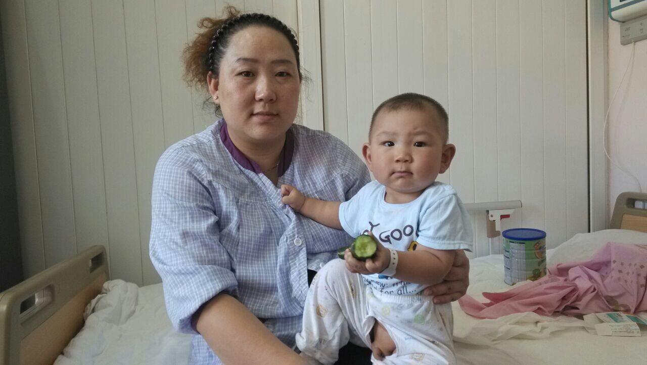 治疗单位: 北京阜外医院 病情诊断: 复杂先天性心脏病,右室双出口